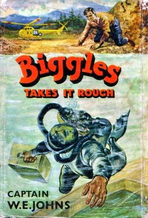 biggles takes it rough